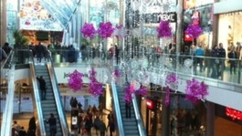 Successful shopping centres during winter sales