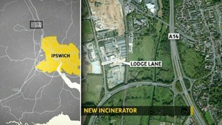 Traffic fears over new Suffolk incinerator