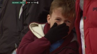 West Ham appeal to find crying fan to offer VIP apology