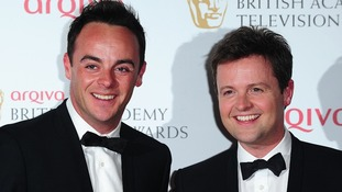 Ant and Dec compete against themselves for TV award