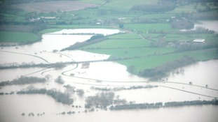 Flooded fields in Arun Valley