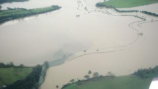 Burst banks in Arun valley