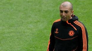 Chelsea manager Roberto Di Matteo