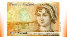 New Austen banknote