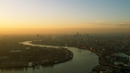 Air pollution causing health problems in London