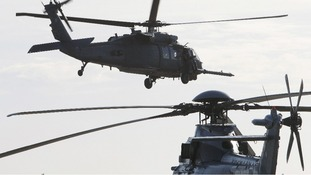 File Photo of a HH-60 Pave Hawk US military helicopters in 2010.