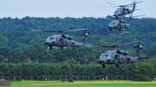 Pave Hawk Helicopters