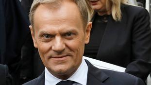 Polish Prime Minister Donald Tusk.