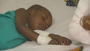3-year-old boy shot in the arm.
