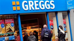 Greggs shop in Sheffield
