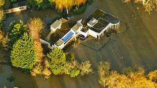 Paul Daniels and Debbie McGee's home in Berkshire is among those that has flooded.