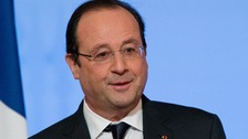 French President Francois Hollande threatened legal action against the magazine.