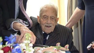 Funeral of 100-year-old Second World War veteran takes place