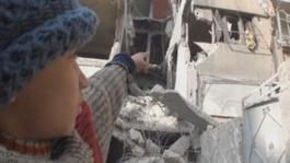 Syrian orphans' terrifying account of fatal air strike
