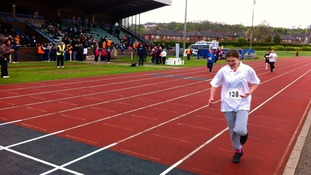 Special Olympics athletics competition in Northwood