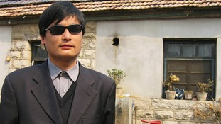 China activist Chen Guangcheng arrives in America