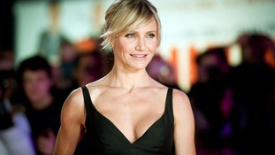 Actress Cameron Diaz has