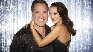 Real life couple David Seaman and Frankie Poultney have lost out in week two of Dancing On Ice.