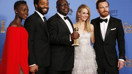 12 Years a Slave wins best drama film at Golden Globes