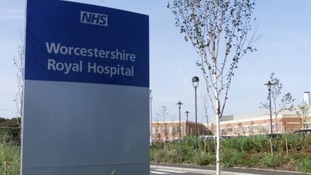 Worcestershire Royal Hospitals is one of three hospitals affected by norovirus