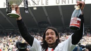 Gutiérrez helped Newcastle United gain promotion back in 2010.