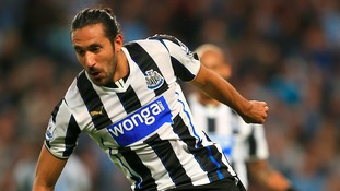 Norwich City confirm signing of Newcastle United winger Jonás Gutiérrez