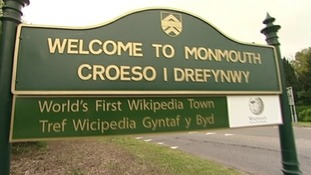 Monmouth becomes the world's first 'Wikipedia town'