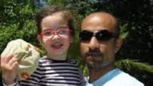 Elsa Salama & her father Tamer Salama