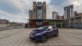 Qashqai car outside the Baltic Centre for Contemporary Art