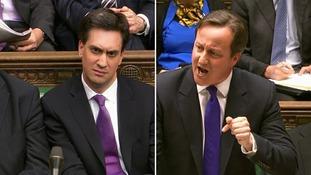 Miliband and Cameron