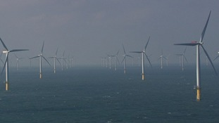 The Sheringham Shoal windfarm