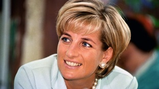 Princess Diana, who Testino photographed for Vanity Fair magazine in 1997