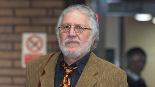 DJ Dave Lee Travis leaves Southwark Crown Court