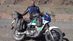 Martin Williams from Australia has world trip cut short after Swansea motorbike theft