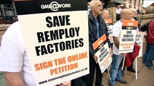 Remploy protests