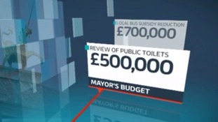 Bristol's Mayor announces his budget cuts