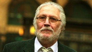 Dave Lee Travis pictured arriving at Southwark Crown Court