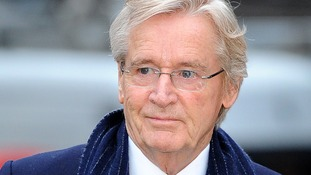 Coronation street actor Bill Roache arrives at Preston Crown Court today
