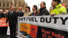Fairfuel protest in London