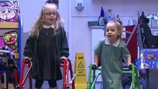Young girl with cerebral palsy reaches donation target