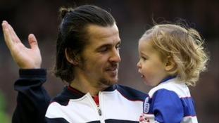 Joey Barton with his son, Cassius
