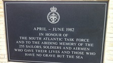 A new Falklands Memorial will be unveiled today at the National Memorial Arboretum in front of 600 veterans and family members.