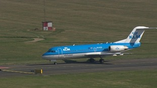 KLM operates regular services from Norwich