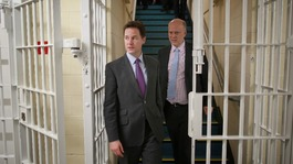 Clegg vows to tackle youth offending on visit to Kent