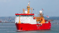Royal Navy icebreaker, HMS Protector