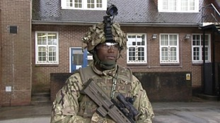 New military technology demonstrated in Wiltshire