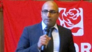 Labour MEP candidate Del Singh.