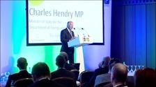 Energy Minister Charles Hendry