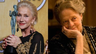 Maggie Smith and Helen Mirren both win gongs at Screen Actors Guild Awards