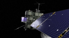 Comet-chasing probe sends signal after 'space hibernation'